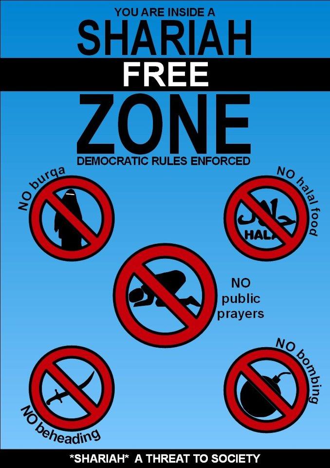 zona libre de Sharia