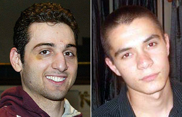 Authorities are now investigating whether there was any link between Boston bombing suspect Tamerlan Tsarnaev (L) and Canadian jihadist William Plotnikov.