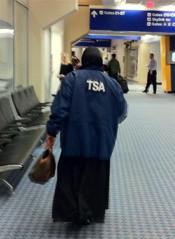 MUSLIM TSA AGENT