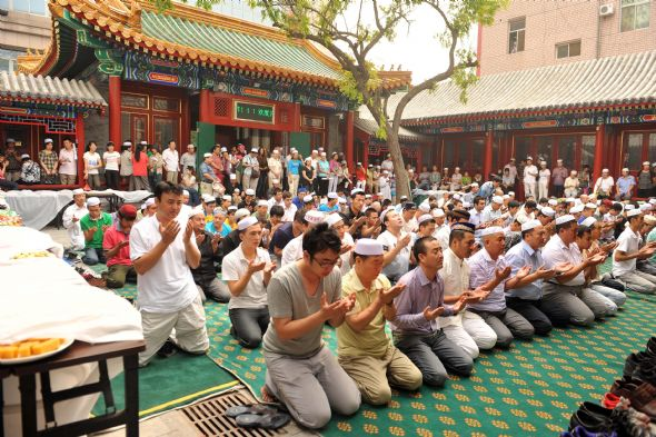 Guidance posted on government websites called on Communist Party leaders to restrict Muslim religious activities during the holy month, including fasting and visiting mosques. The government has banned any public religious activities by the region's Muslims