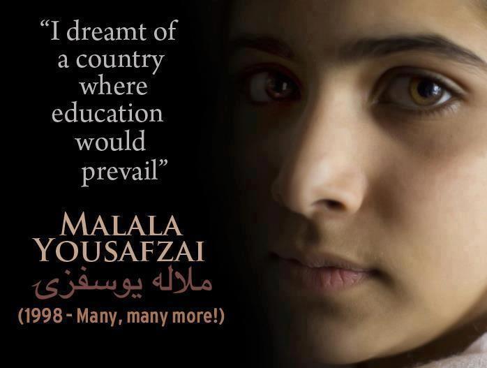 Malala Yousafzai quotes (2)