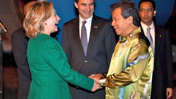 Hillary in Malaysia