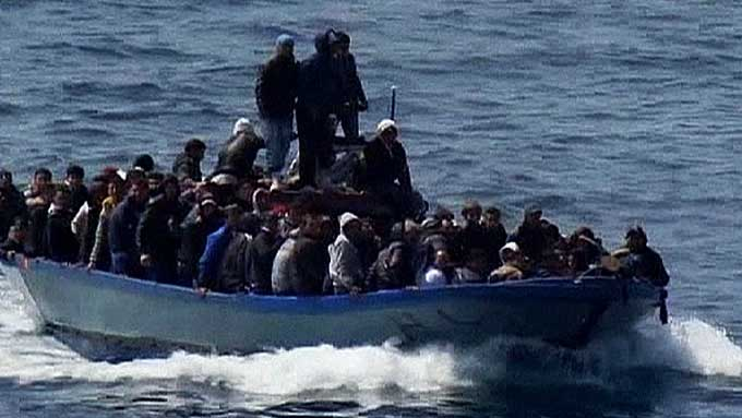 Muslim illegal aliens are flooding the shores of Italy