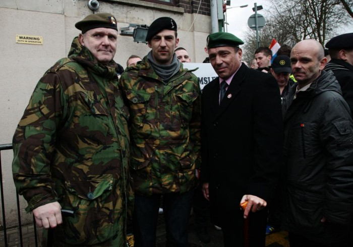 Military veterans now members of the EDL