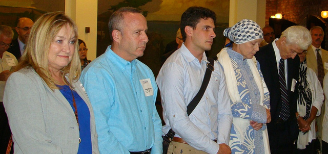 Senator Darrell Steinberg (second from left) at Capitol Iftar