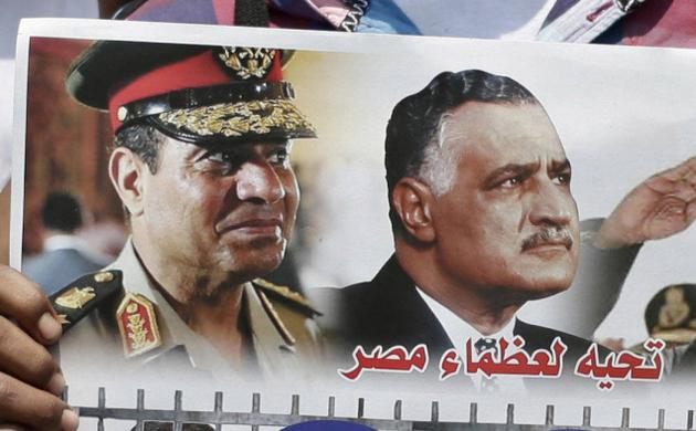 Egypt's General Sisi's policies re: the Muslim Brotherhood are reminiscent  of former President Nasser's