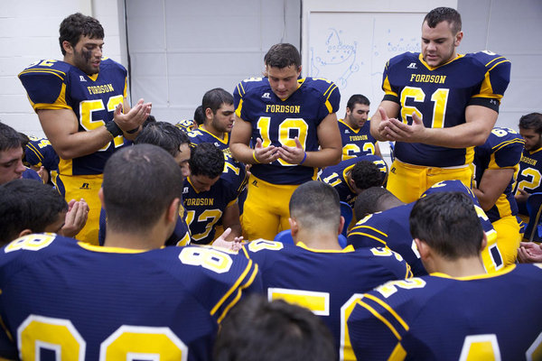 Do the Christian players have to pray to Allah, too?
