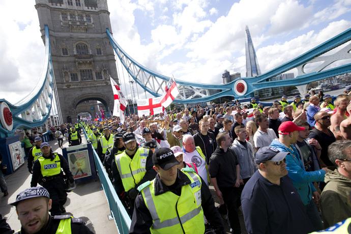BRITAIN-PROTEST-EDL