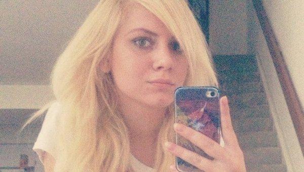 Girlfriend Tatiana Gruzdeva published a photo of herself looking worried
