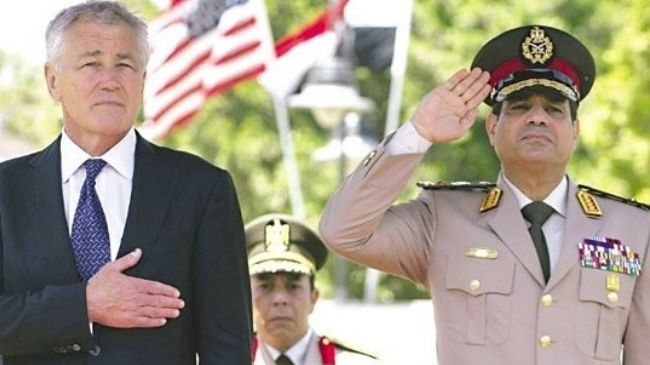 Secretary of Defense, Chuck Hagel, was virtually laughed out of Egypt when he suggested mending fences with Morsi