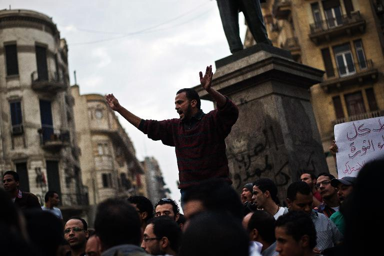 Egyptian activists against the military