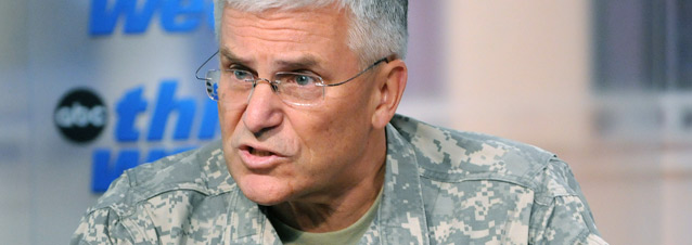 "Army Gen. George Casey repeated a mantra as he made the rounds of the Sunday News shows after the jihadist massacre; ""If our diversity becomes a casualty (of the Fort Hood massacre) then that's worse."""