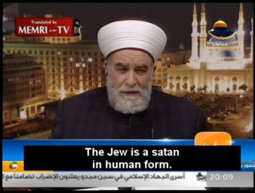 memri-clip-jew-is-satan-in-human-form