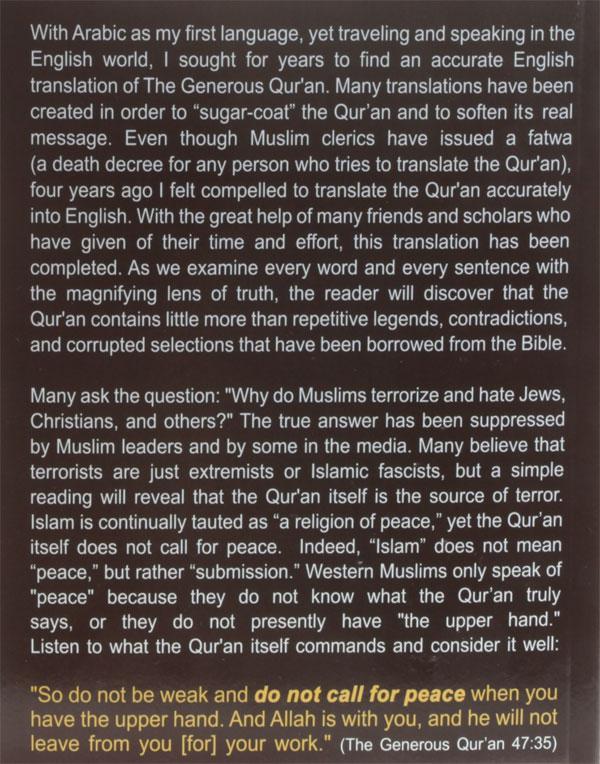 From Dakdok's book on quran translation