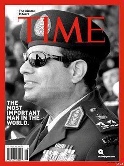 Comandante querida de Egipto en Jefe de las Fuerzas Armadas y ministro de Defensa, el general Sisi, el hombre que podría convertirse en el próximo presidente de Egipto, el presidente del pueblo