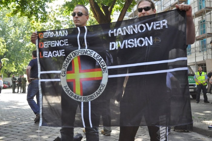 GERMAN DEFENSE LEAGUE grew out of the English Defence League