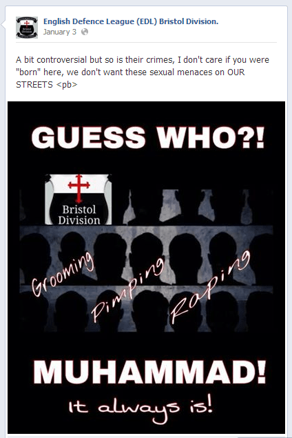 EDL-Bristol-anti-Islam-post-2