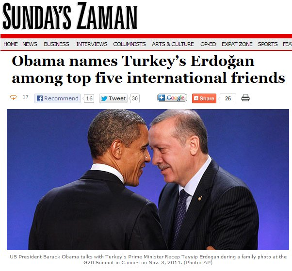 Erdogan Obama Cannes 2011