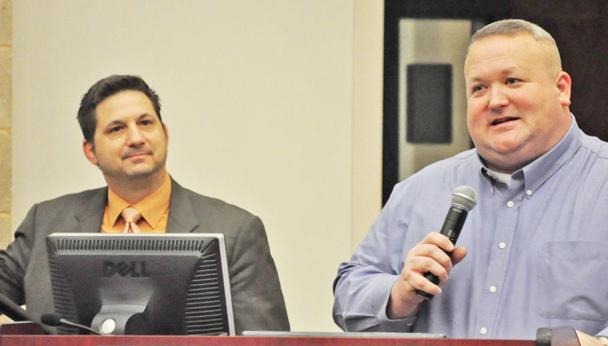 John Guandolo, Counter-terrorism trainer and Sheriff Scott Jenkins