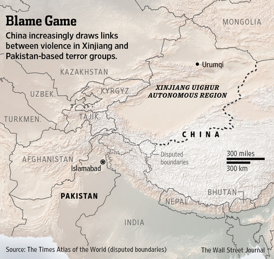 Xinjiang Officials Claim Over Uighur Militants Ties Could Strain Beijings Bond With Regional Ally