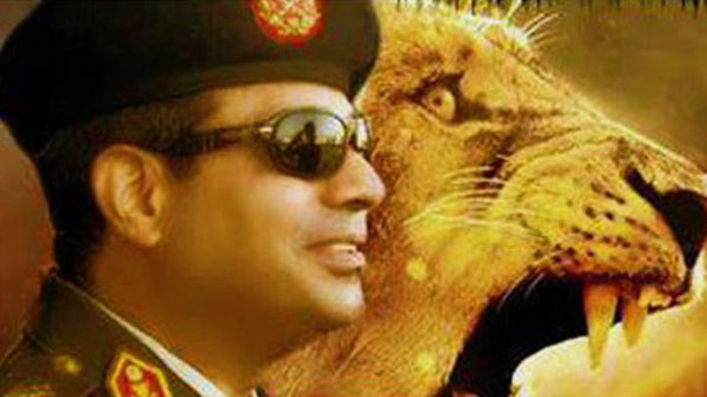 general-sisi-and-a-lion