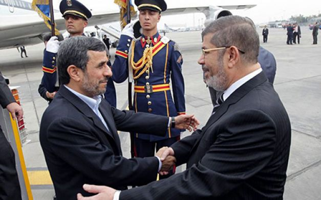 Ousted Muslim Brotherhood president of Egypt, Muhammad Morsi, had close ties with Iran from the beginning