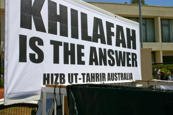 Hizb ut-Tahrir advocates for a worldwide Islamic caliphate (Khilafah)