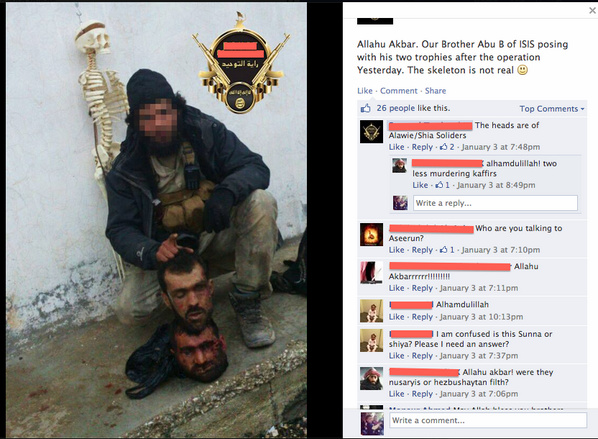 British-born jihadis with some heads