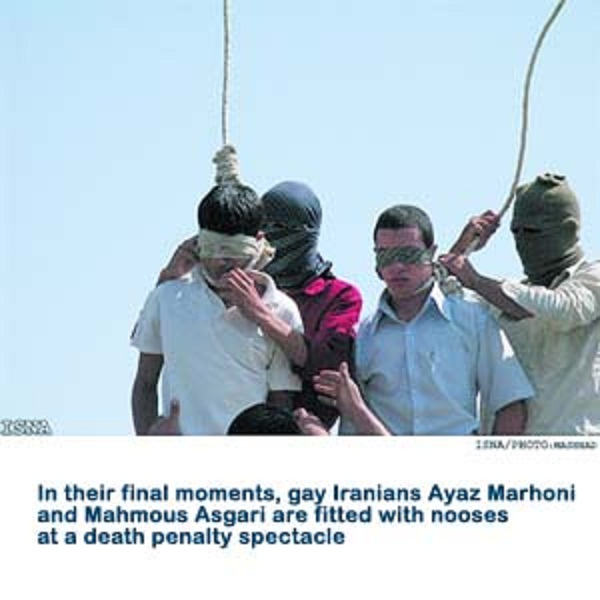 SHARIA PUNISHMENT FOR BEING GAY