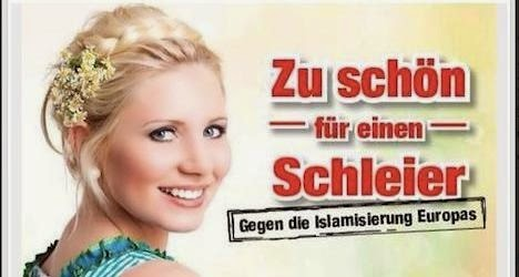 """""""Too beautiful for a veil"""". Against the Islamization of Europe"""