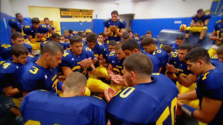 Dearborn High School's all-Muslim football team