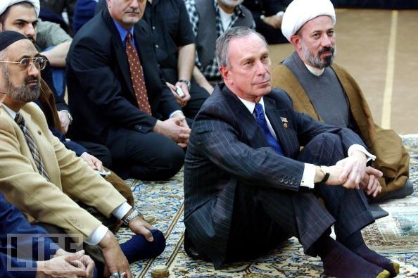 Former Mayor Michael Bloomberg doing his best Muslim pandering act