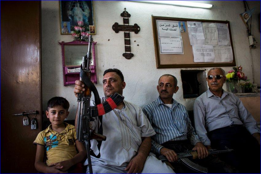 Some iraqi Christians disagree with the pope