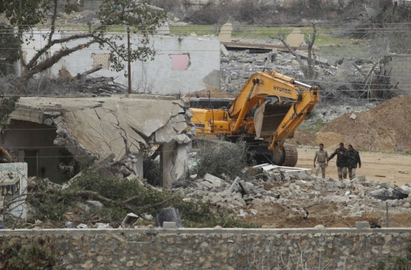 Egypt has demolished most of the smuggling tunnels into Gaza