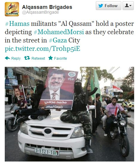 Hamas is the armed branch of the Muslim Brotherhood