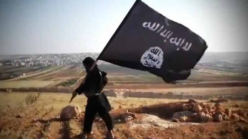 ISIS BLACK FLAG OF JIHAD