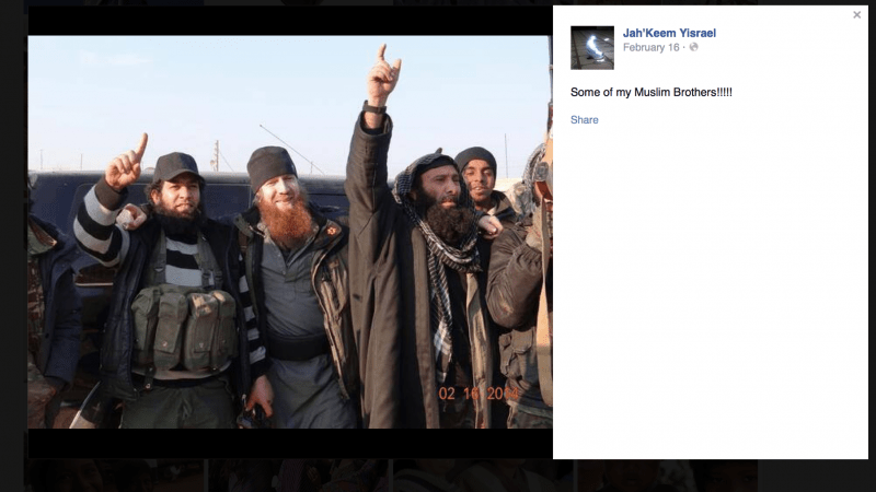 Red-haired Ginger Jihadi fighting with ISIS in Syria