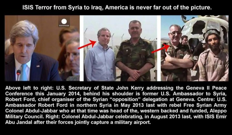 US-ambassador-Kerry's-Robert-Ford-with-FSA-and-ISIL-terrrorists.