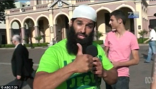 Mohammad Baryalei the Muslim who sparked the anti-terror raids was  a former Kings Cross bouncer now fighting with Islamic State is accused of encouraging Australians to carry out gruesome terrorist attacks on Sydney's streets.