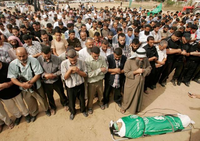 gaza-burial