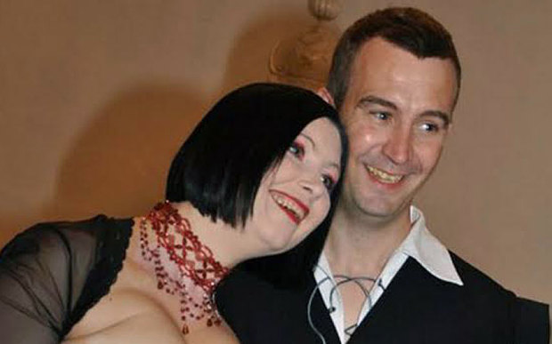 David Haines with Croation-born wife Dragana