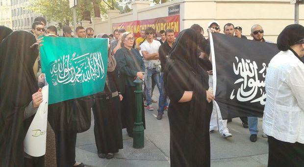 Los musulmanes en Austria protestan la nueva ley