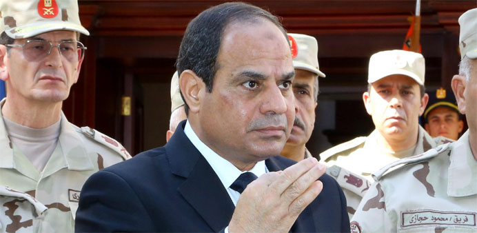 Egypt's President Sisi vows retribution after 31 soldiers slain in Sinai