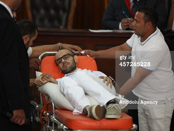 Not looking' so good, Mohammed…Buh Bye!