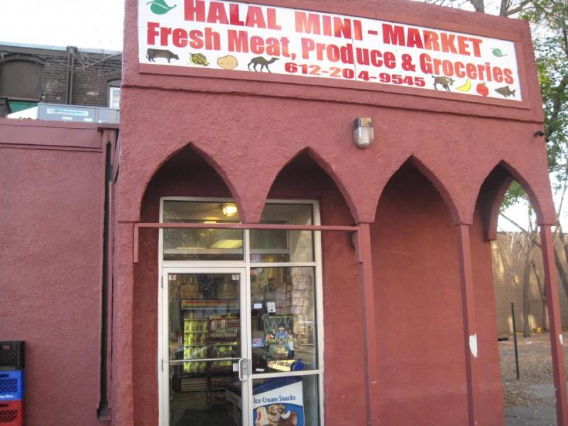 Halal mini-market in Minneapolis