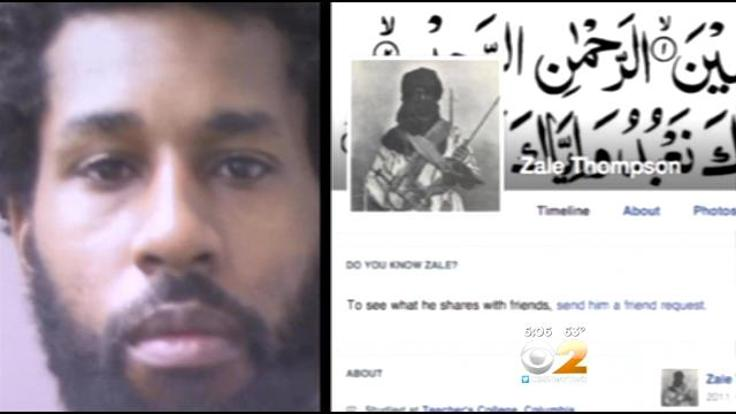Terrorism-.-Authorities-have-ID-attacker-ofcops-in-Queens-with-a-hatchet-Thursday-as-32-yr-old-Zale-Thompson.-CBS-2s-Tony-Aiello-reports.