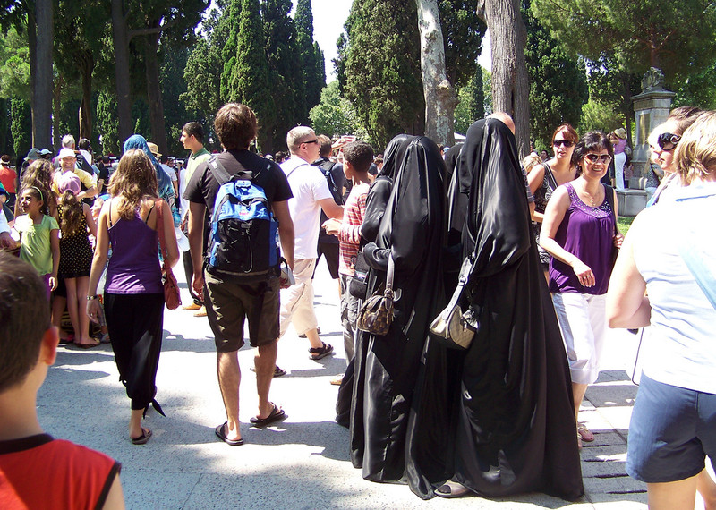 One in three Muslims in Italy feels unwelcome in cafes and shops. Gee I wonder why?