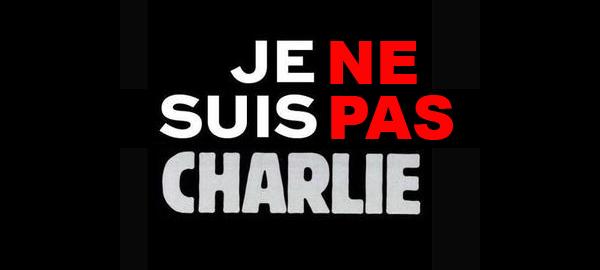"""TRANSLATION: """"I am NOT Charlie"""""""