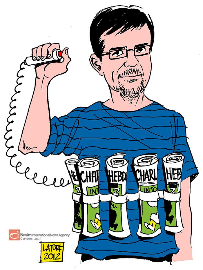 Musulmanes enviar un mensaje de que la publicación de las caricaturas de Mahoma Charlie Hebdo es suicida