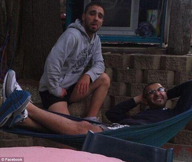 Mohammad Kiad, 25 (right), and his Iraqi born housemate Omar Al-Kutobi, 24 (left)